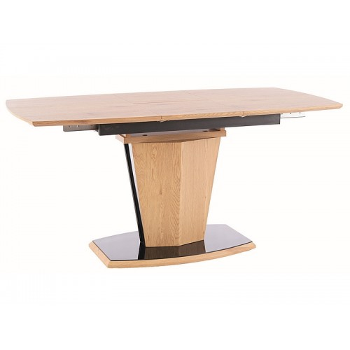Стол Houston 120(160)X80 МДФ+шпон Дуб Signal